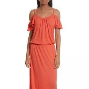 SOFT JOIE JASSINA Deep Poppy Jersey Maxi Dress